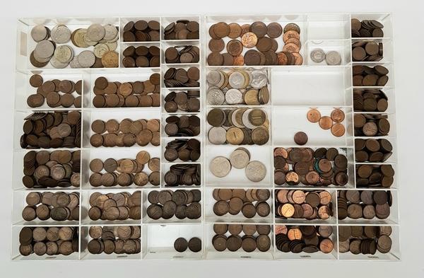Centen, stuivers en buitenlands geld